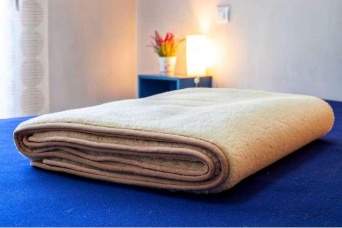 Ull teppe Merinoull dyne sengetøy woolmark